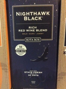 Wine Bota Box Nighthawk Red Wine Blend